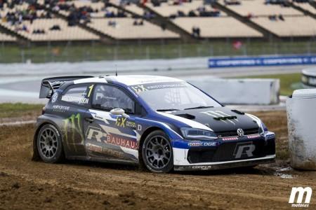 Ekström excluido, triunfo de Kristoffersson en el World RX de Barcelona