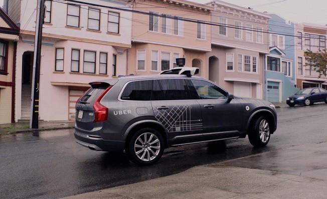 Volvo XC90 autónomo de Uber
