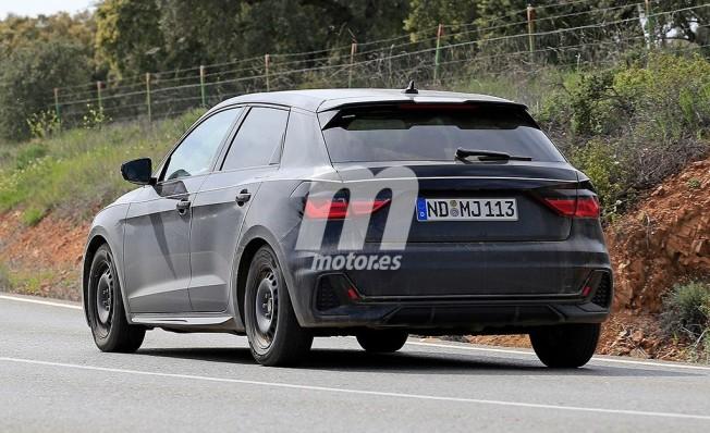 Audi A1 2018 - foto espía posterior