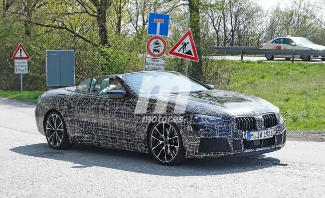 BMW Serie 8 Cabrio 2018 - foto espía