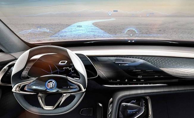 Buick Enspire Concept - interior