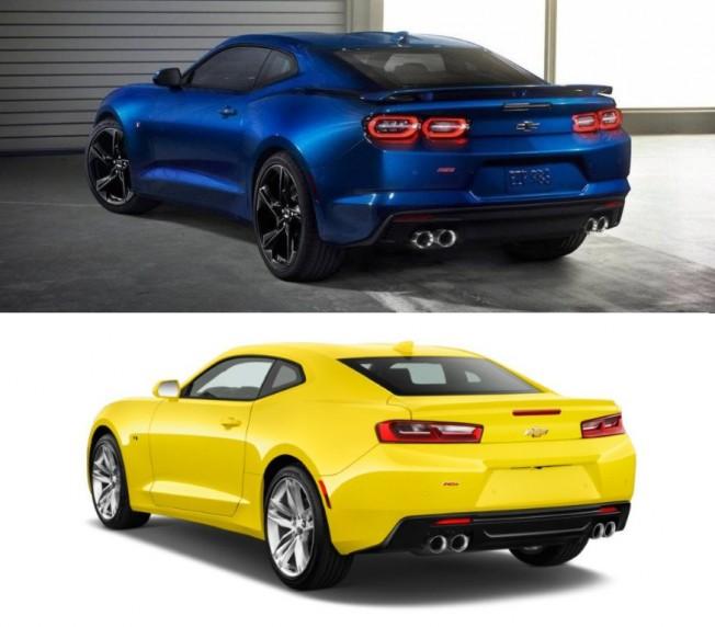 Camaro Vs Mustang >> Chevrolet Camaro 2019 vs Camaro 2016: análisis de sus ...