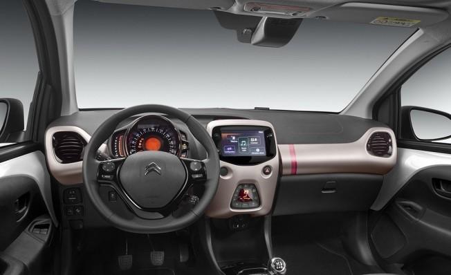 Citroën C1 2018 - interior