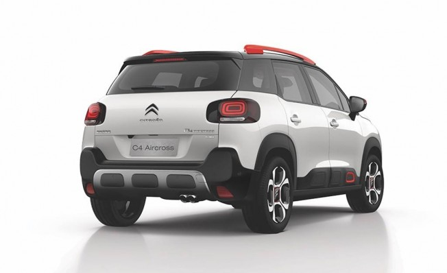 Citroën C4 Aircross - posterior