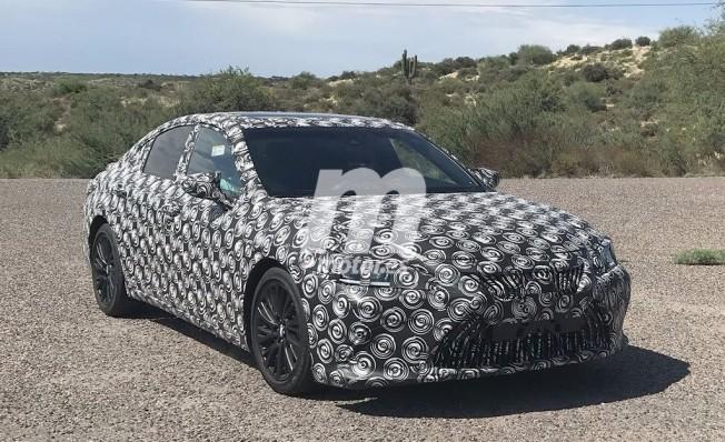 Lexus ES 2019 - foto espía