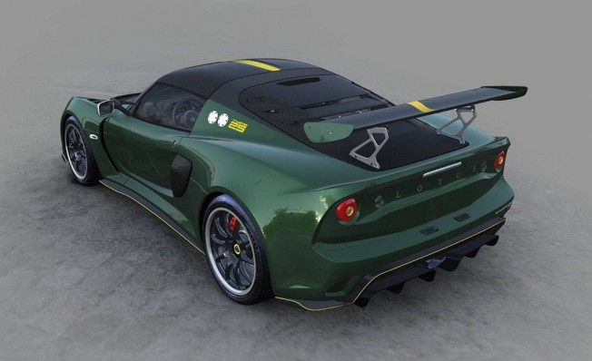 Lotus Exige Cup 430 Type 25 - posterior