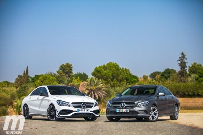 Mercedes Cla 200d Y Cla 45 Amg Como De Diferentes Son Motor Es