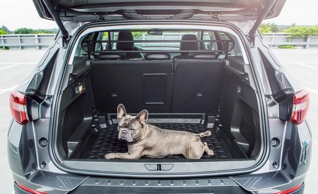 Opel Grandland X - bandeja de goma para el maletero