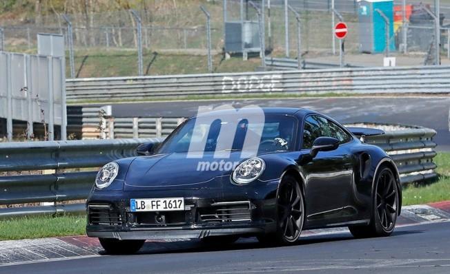 Porsche 911 Turbo 2019 - foto espía