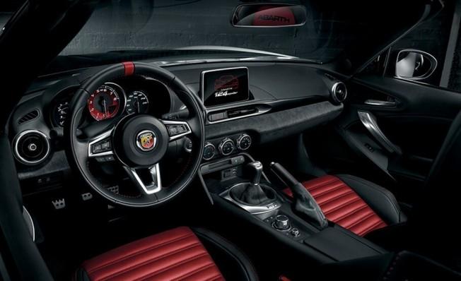 Abarth 124 Spider Turismo - interior