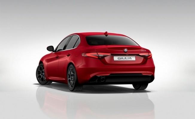 Alfa Romeo Giulia Executive - posterior