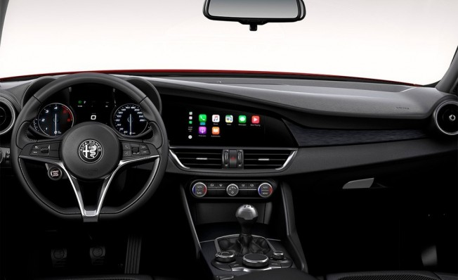 Alfa Romeo Giulia Executive - interior