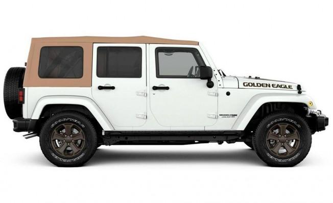Jeep Wrangler Unlimited Golden Eagle