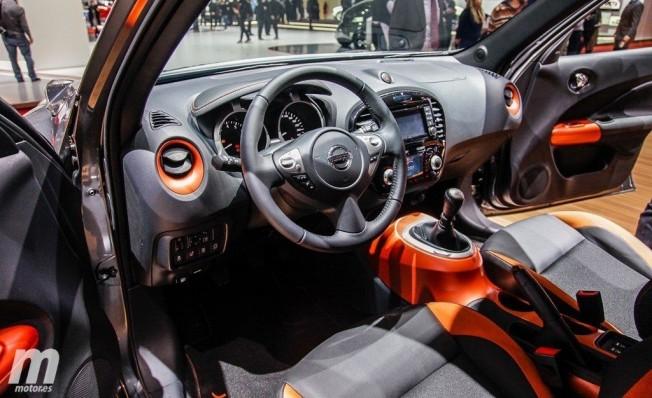 Nissan Juke 2018 - interior