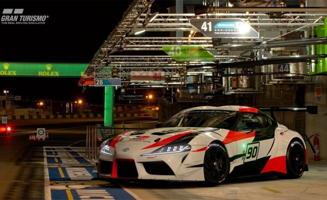 Toyota GR Supra Racing Concept Gran Turismo Sport