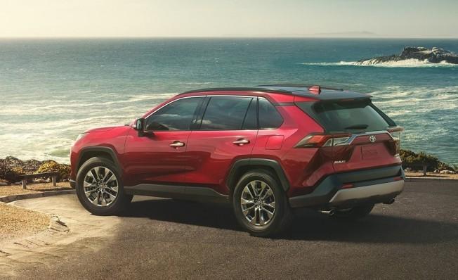 Toyota RAV4 2019 - posterior