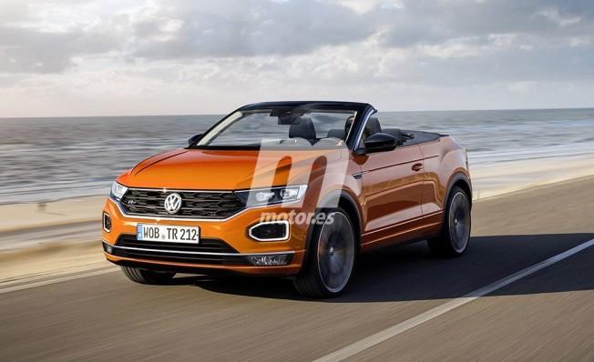 Volkswagen T-Roc Cabrio - recreación