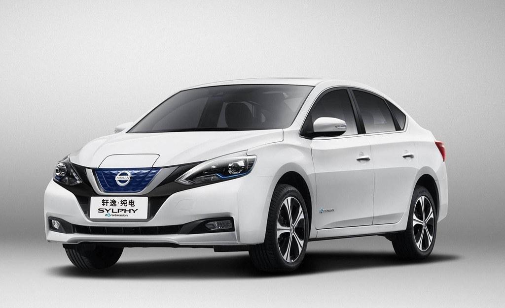 Nissan Sylphy EV: un nuevo coche eléctrico exclusivo para China