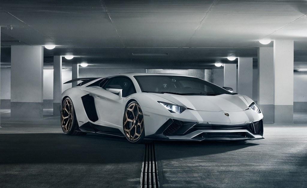 El Lamborghini Aventador S recibe varias novedades de la mano de Novitec