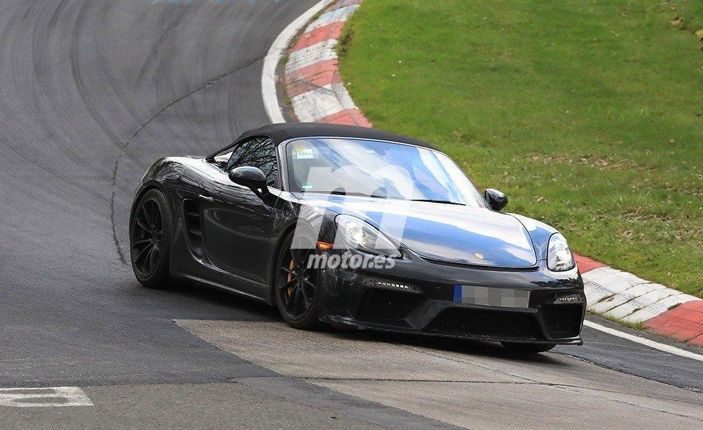 El esperado Porsche 718 Spyder se enfrenta al trazado de Nürburgring