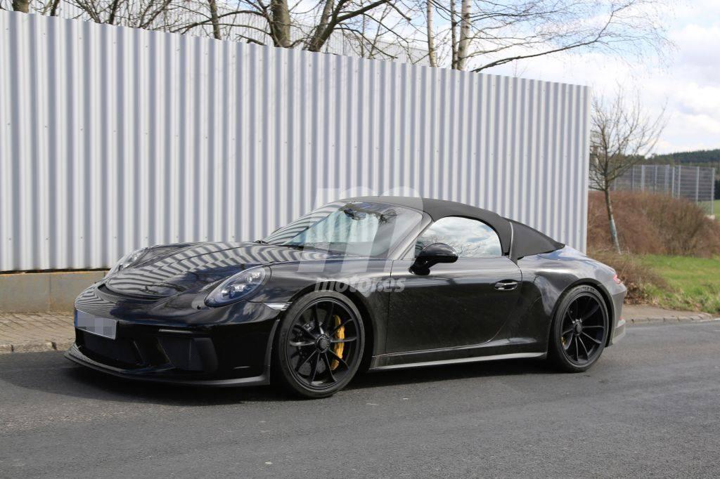 Porsche 911 Speedster: las primeras imágenes del último 991