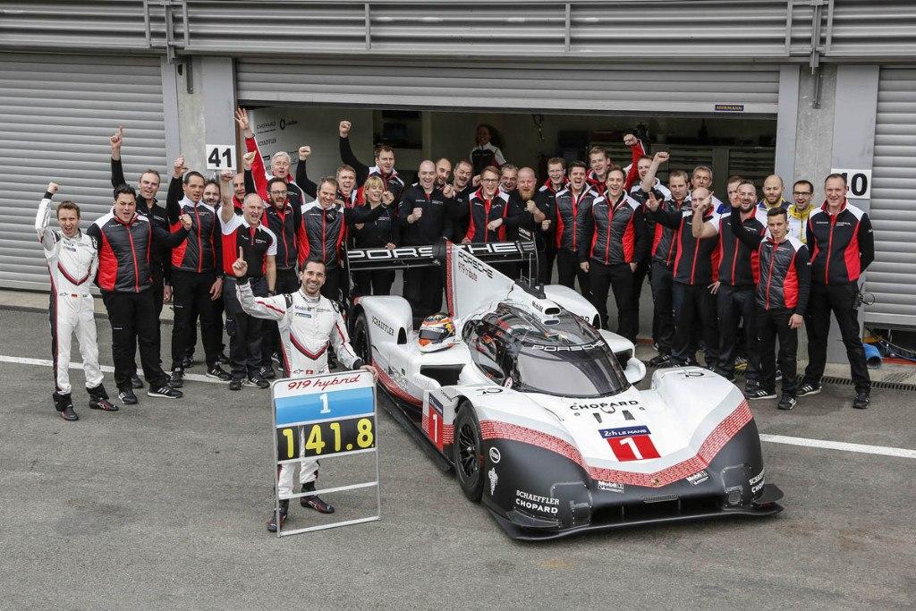 El Porsche 919 Hybrid Evo fulmina el récord F1 de Spa