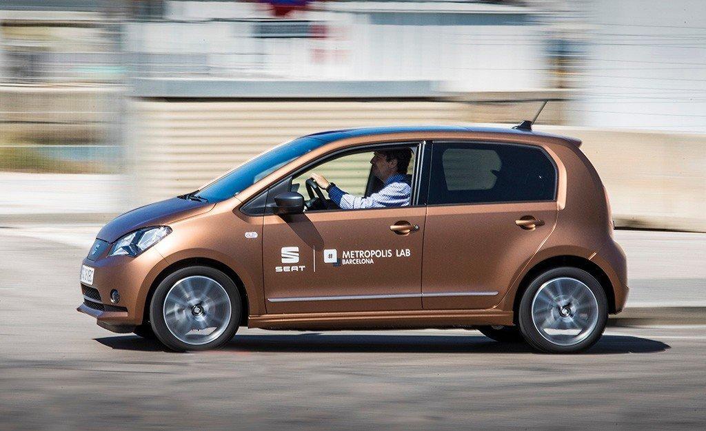 SEAT utiliza prototipos eMii eléctricos para una prueba piloto de car sharing