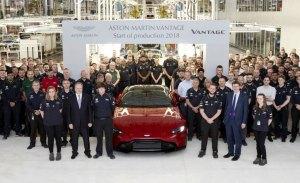 El nuevo Aston Martin Vantage comienza su producción en Gaydon