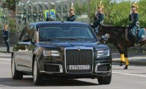 Vladimir Putin se adelanta a Trump estrenando nueva limusina blindada