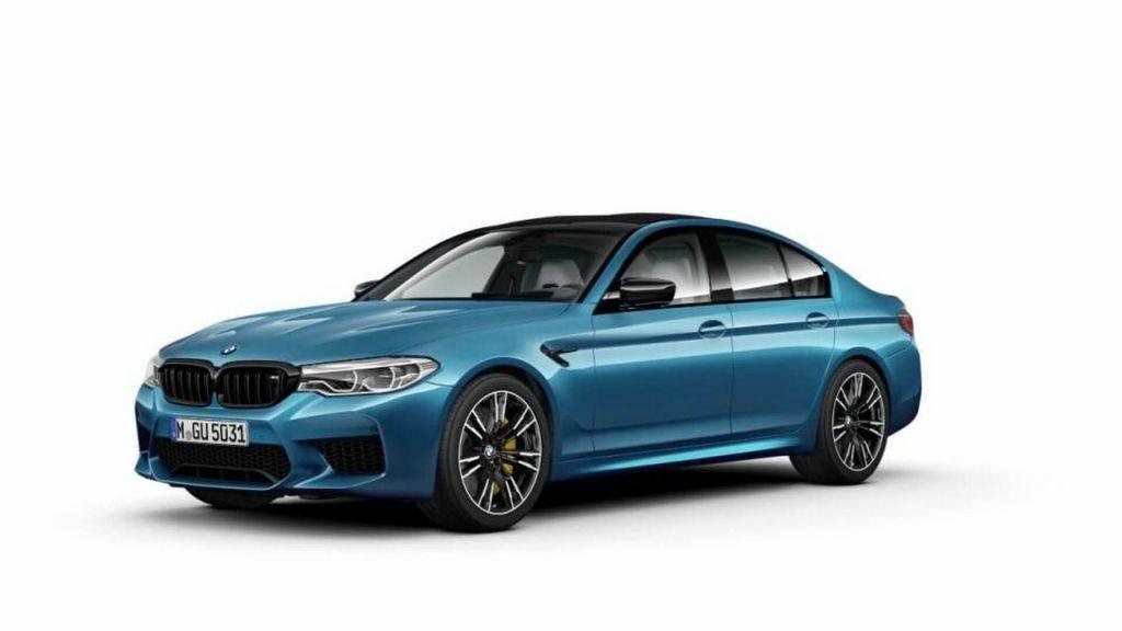 ¿Filtrado el nuevo BMW M5 Competition Package y todos sus datos?