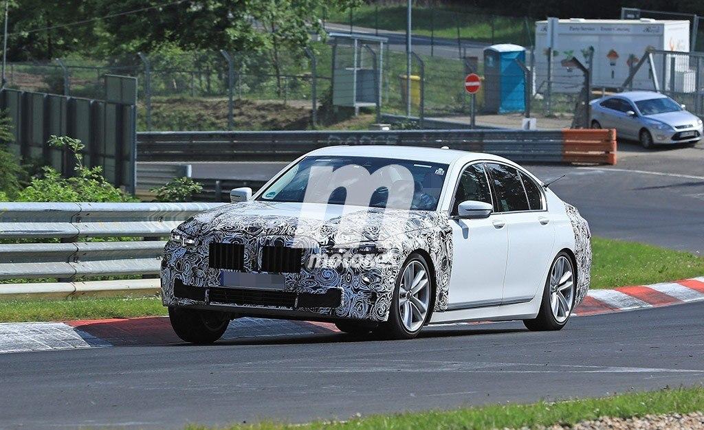 El nuevo BMW Serie 7 2019 cazado a su paso por Nürburgring