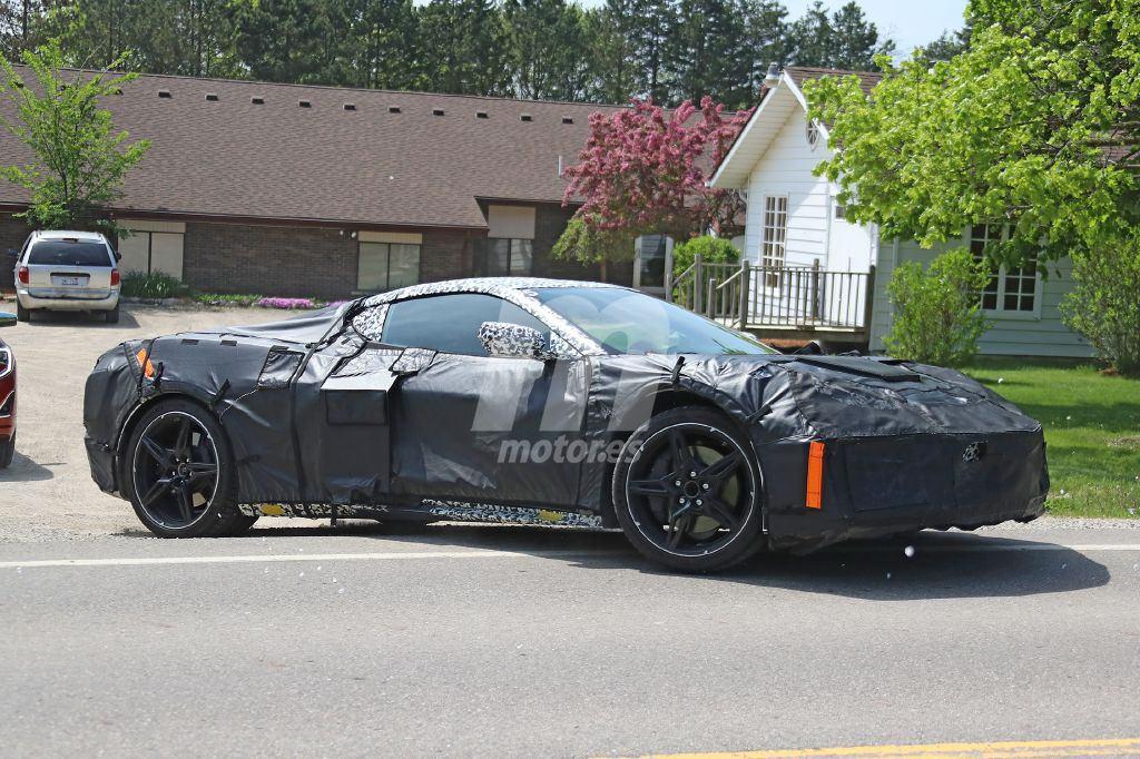 El Chevrolet Corvette C8 enseña sus nuevos elementos con más detalle