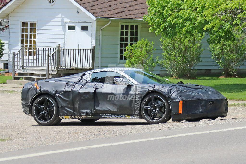 El nuevo Corvette C8 mantendrá el techo desmontable de sus antecesores