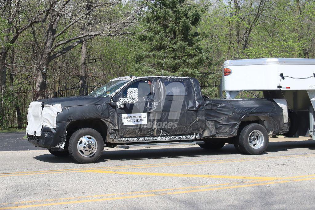 Asómate por primera vez al interior del Chevrolet Silverado Heavy Duty 2020