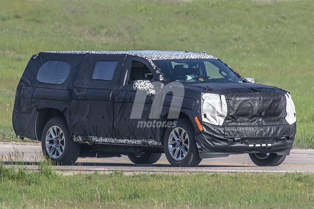 Chevrolet Suburban 2020: primeras fotos espía de la 12ª generación del SUV