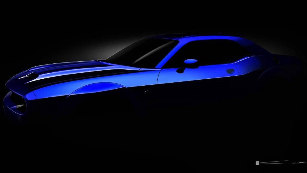 Dodge Challenger SRT Hellcat 2019: primer adelanto de la actualización estética