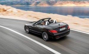 El Mercedes-AMG SLC 43 aumenta la potencia de su propulsor hasta 390 caballos