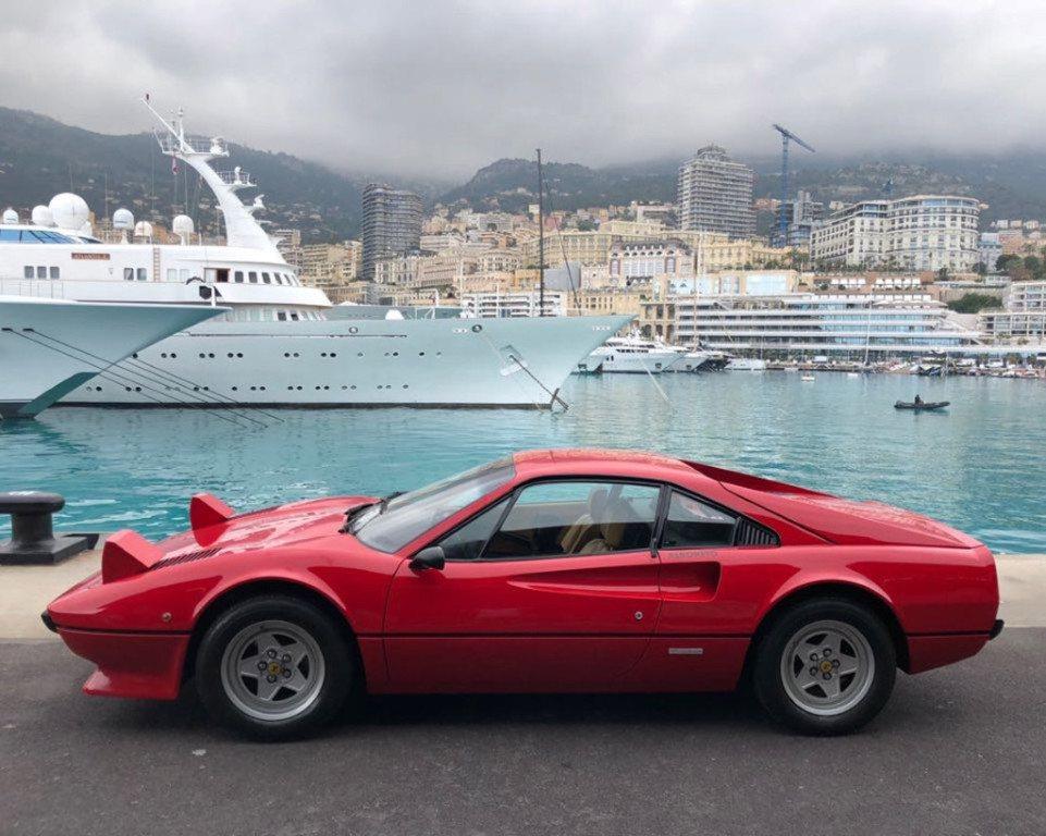 El Ferrari 308 GTB de Michele Alboreto a subasta