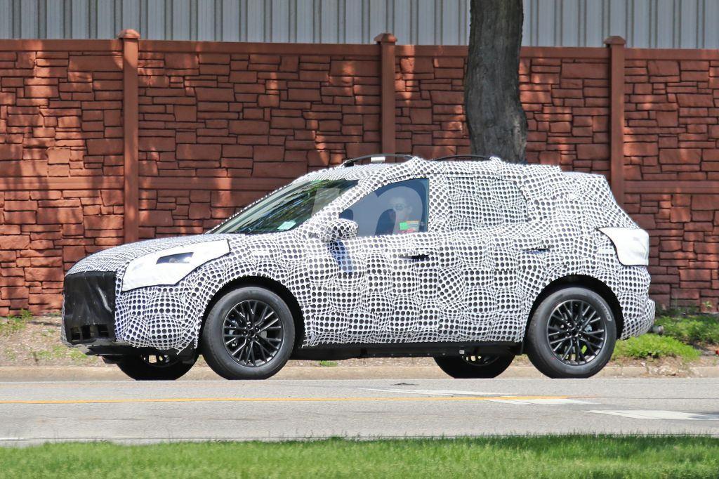 El nuevo Ford Escape PHEV cazado en su configuración definitiva