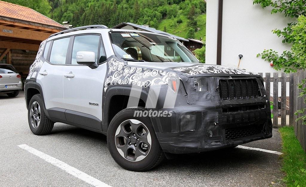 El nuevo Jeep Renegade 2019 cazado a su paso por los Alpes suizos
