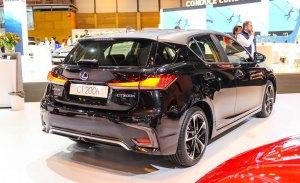 Lexus CT 200h Black & Grey Edition, más elegante el compacto híbrido en el Salón de Madrid