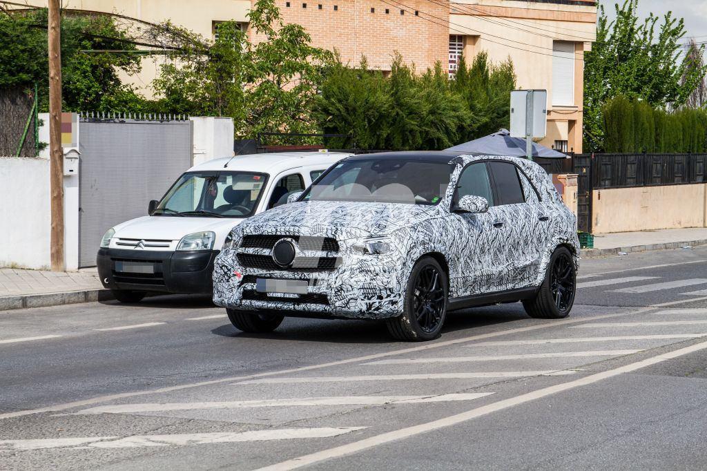 El nuevo Mercedes-AMG GLE 63 2019 cazado en España