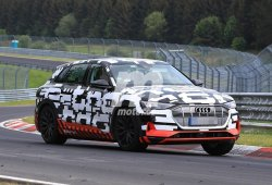El Audi e-tron quattro regresa a Nürburgring para ultimar su desarrollo