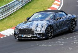 El nuevo Bentley Continental GTC 2019 regresa a Nürburgring
