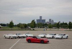La evolución del Chevrolet Corvette desde 1953 a 2018 en vídeo