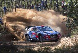 Dani Sordo lidera el Rally de Portugal, drama en Toyota