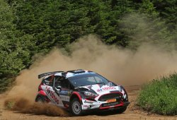 Doble salto a WRC2 de Gaurav Gill y Kajetan Kajetanowicz