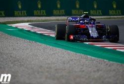 Gasly da un respiro a Toro Rosso tras el fuerte accidente de Hartley
