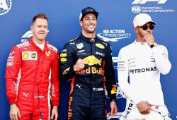 """Hamilton incluye a Ricciardo en la pelea por el título: """"Será una lucha a tres bandas"""""""