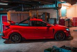 La «bizarrada» del día: convertir un Honda Civic Type R en un pick-up